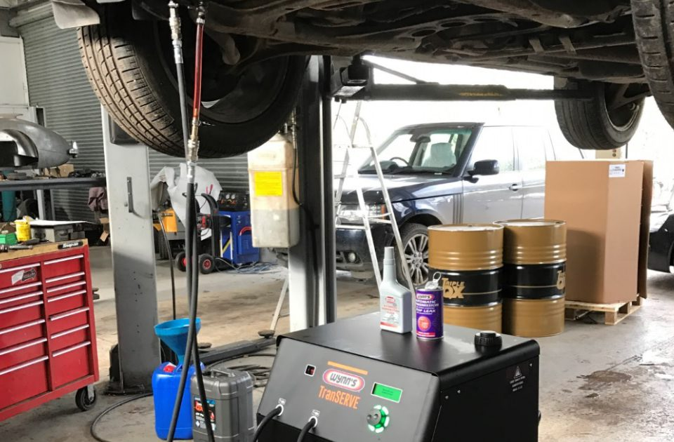 vehicle Serviced