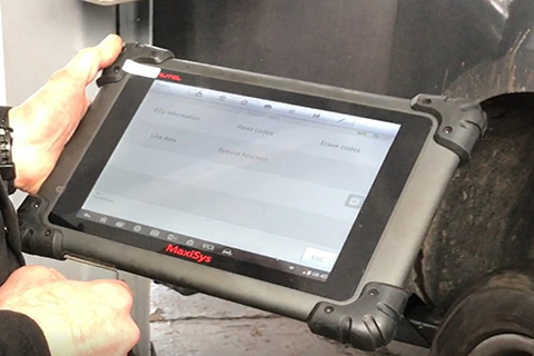 Diagnostic Tool At CCM Garage