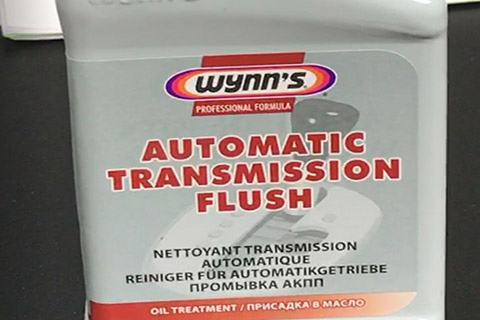 Wynns automatic transmission flush