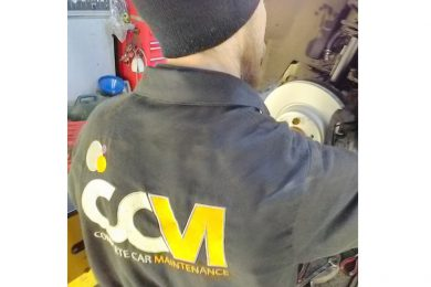 CCM Mechanic in Garage