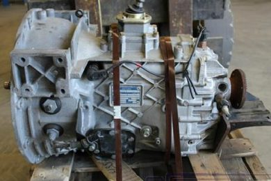 ZF Gearbox Removed From Engine at CCM Garage