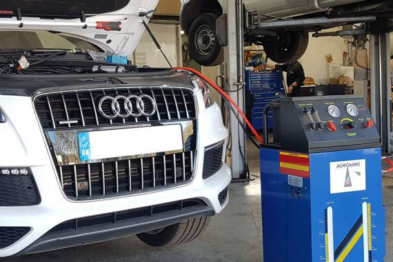 Audi Automatic Gearbox Flushing Service At CCM Garage
